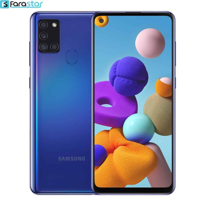 گوشی موبایل سامسونگ مدل Galaxy A21s دو سیم کارت ظرفیت 32/3 گیگابایت