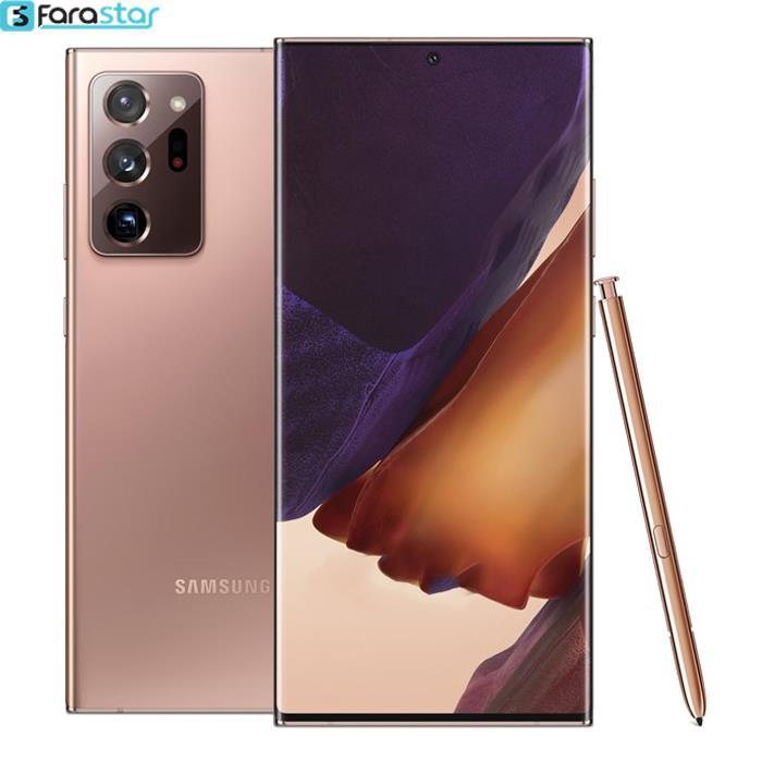 گوشی موبایل سامسونگ Galaxy Note20 Ultra دوسیم کارت با ظرفیت 256گیگابایت